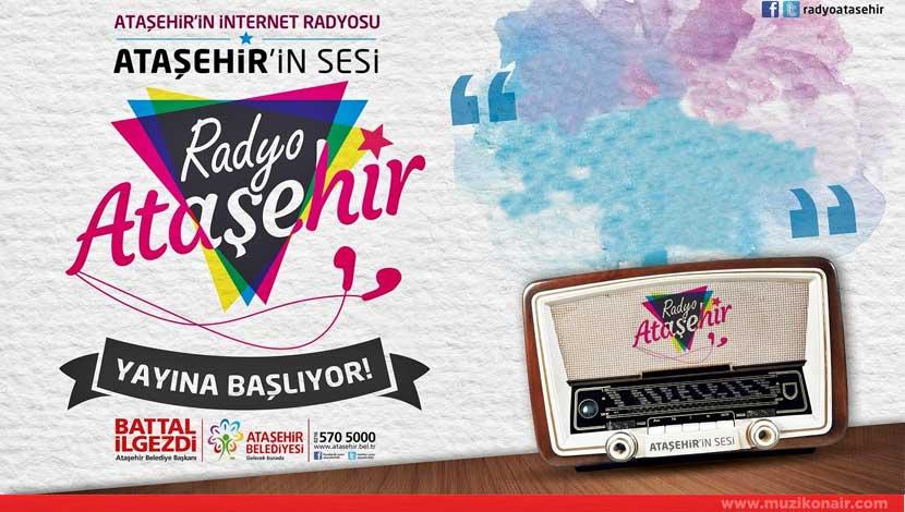 Radyo Ataşehir Yayına Başlıyor